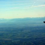 wunderschöner Blick auf die Alpen