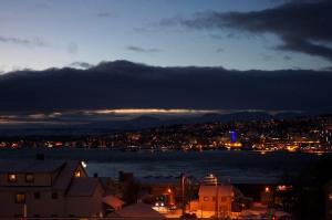 Abendstimmung über Tromsø