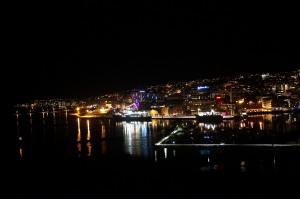 Noch eine Schøne Nachtsicht auf Tromsø (Endlich stimmt das ø mal!)