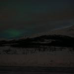 Polarlicht ¨ueber Berg