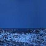 Blick von Berg in Richtung Nacht