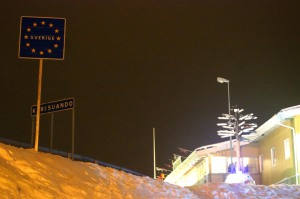 Schwedische Grenze