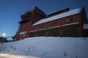 Das Lagerhaus.. ähm Pardon der Bahnhof von Abisko