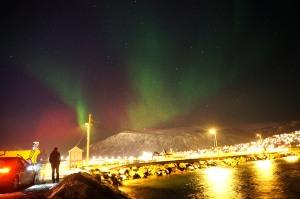 Der Himmel ber Tromsø (Und ein Nils, der nicht stillhalten kann)